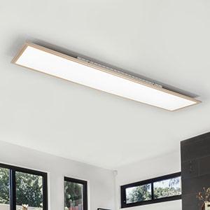 Panelförmige LED-Deckenlampe Moira, easydim