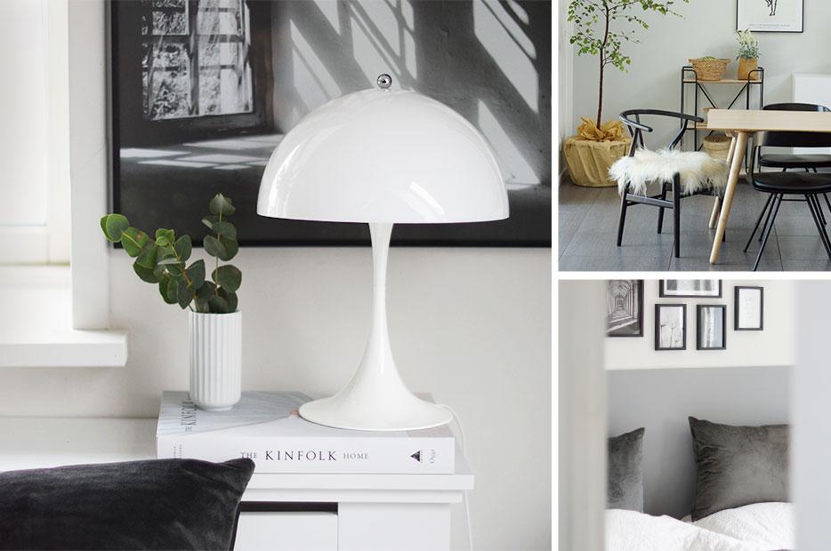 Designerbordlampe Panthella fra Louis Poulsen