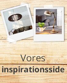 Min stil, min belysning - Lamper til enhver indretningsstil!