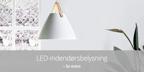 LED-lamper til indendørs brug