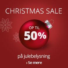 Spar op til 50 % på julebelysning