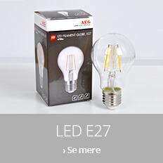 LED-lyskilder med E27-fatning