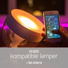ZigBee kompatible lamper