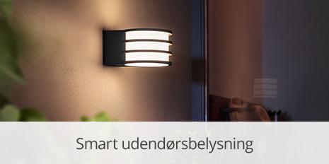 Smart udendørsbelysning