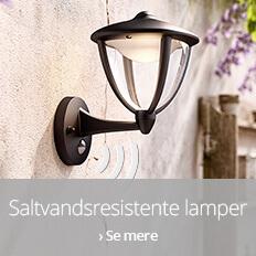 Til saltvandsresistente lamper
