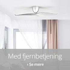 Ventilatorer med fjernbetjening