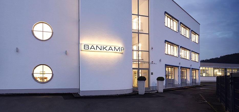 BANKAMP hovedkontor i Arnsberg
