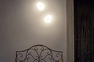 Foscarini Gregg media semi 1 væglampe
