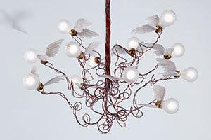 Ingo Maurer Birdie - LED-hængelampe