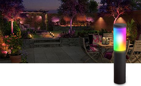 Innr Smart Outdoor LED-lampe med jordspyd