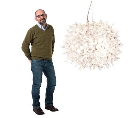 Ferruccio Laviani og pendellampen Bloom