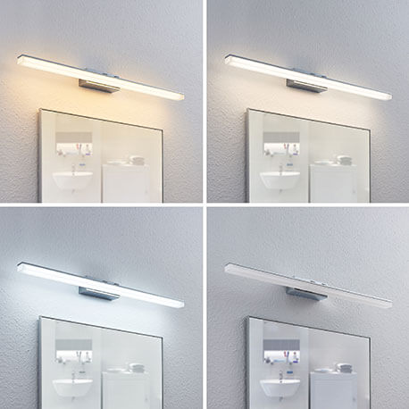 LED-spejllampe Bernie