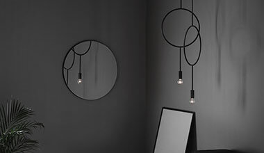 Ekstravagant designer pendellampe Circle