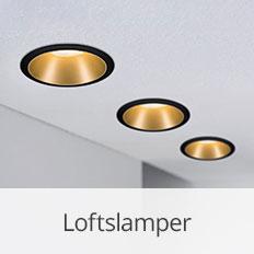 Loftlamper fra Paulmann