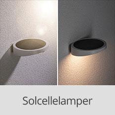 Solcellelamper fra Paulmann