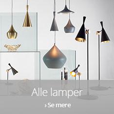 Alle lamper fra Tom Dixon