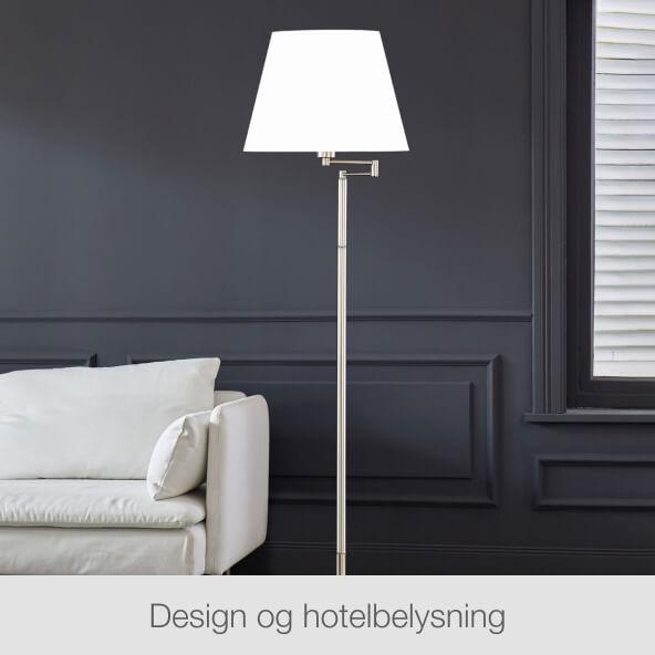 Design & hotelbelysning