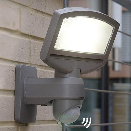 Solcelle-LED udendørsvæglampe Lord Sunshine, modul