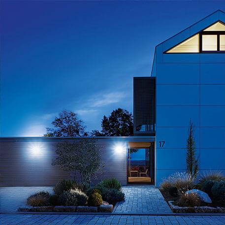 Innovativ LED-udendørsvæglampe XLED Home 2 XL