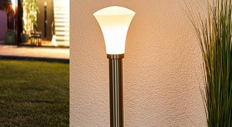 Juliane - vejlampe til udendørsarealer