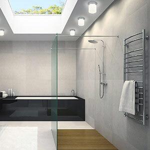 spejllampe badevaerelse