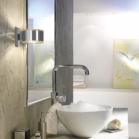badeværelse væg lampe