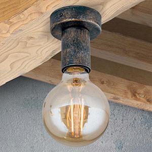 loftlamper landlig stil