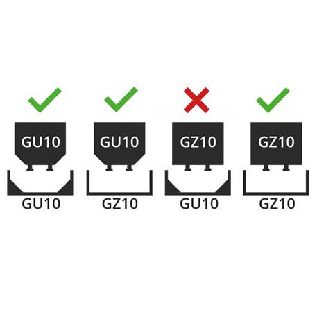 lyskilder GU10