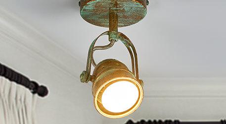 antikke væglamper