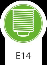 E 14-lyspærer