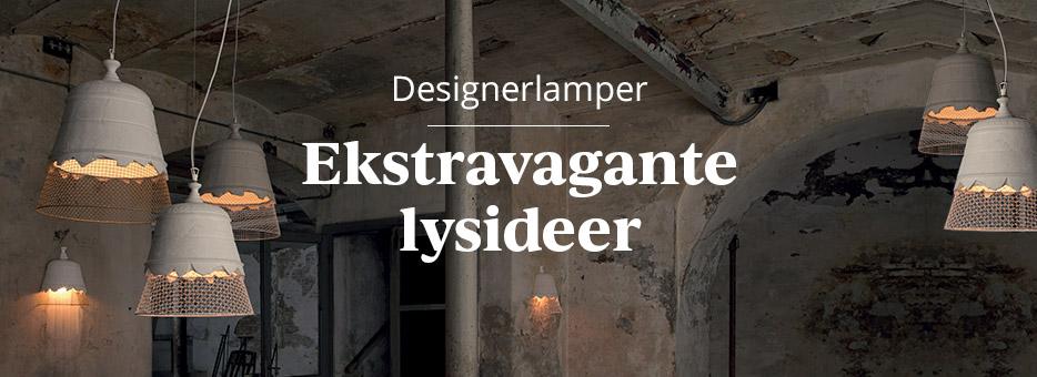 Designerlamper - ekstravagante belysningsideer