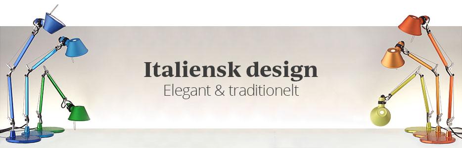 Italienske designerlamper