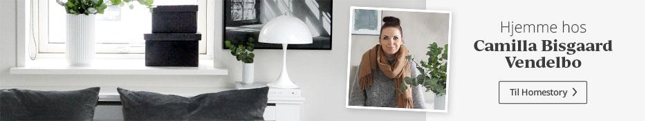 Hjemme hos Camilla Bisgaard Vendelbo