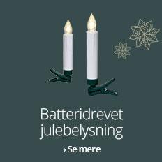 Batteridrevet julebelysning