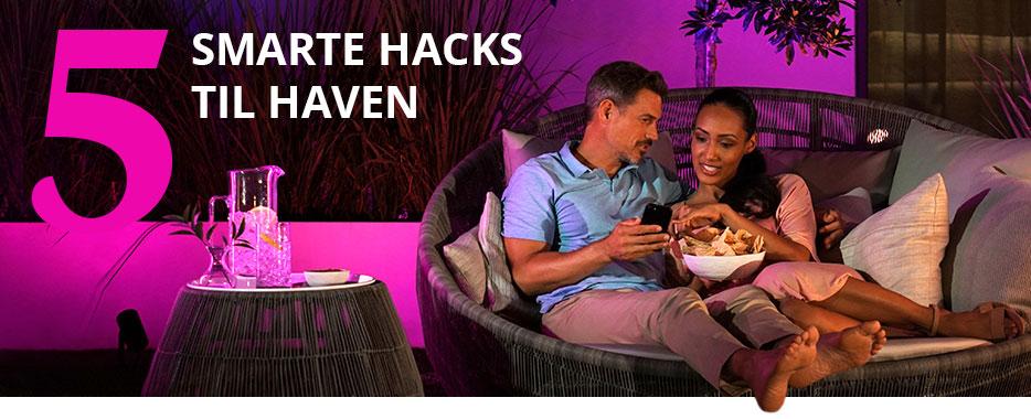 5 Smarte hacks til haven