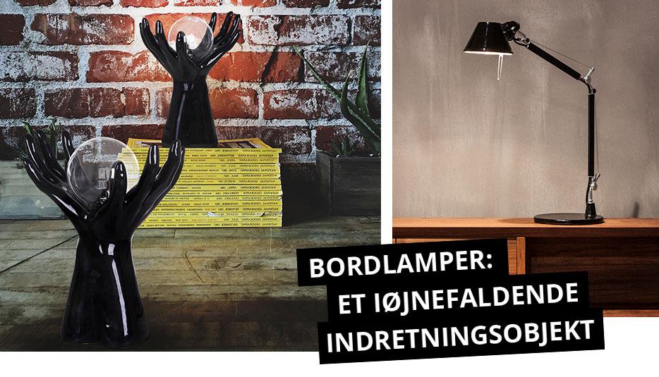 Bordlamper: et iøjnefaldende indretningsobjekt