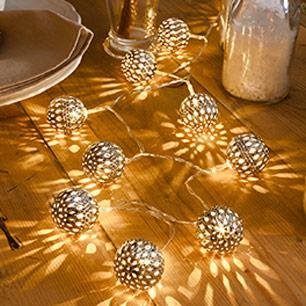 LED-lyskæder til udendørs brug