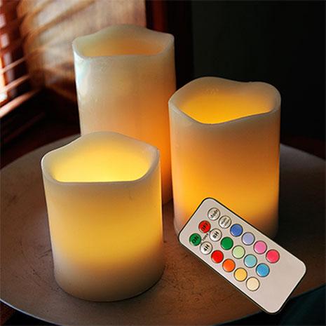 Skab stemning med LED-vokslys