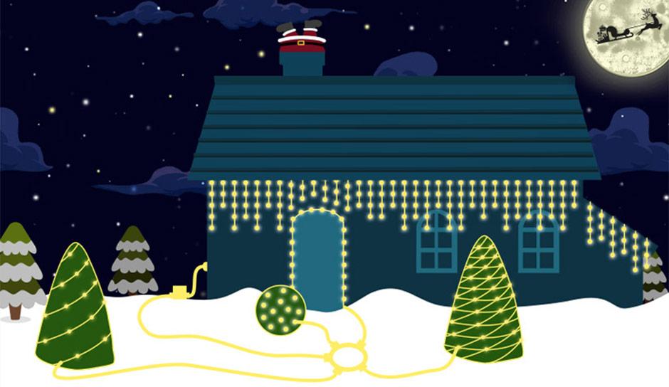 Lyskædesystemer til udendørsområdet giver den ultimative juleudsmykning