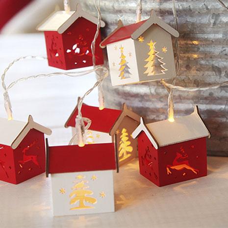 Batteridrevet juledekoration
