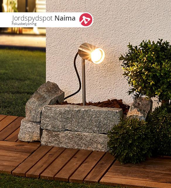 Jordspydspotlampen Naima