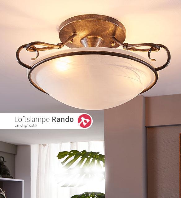 Loftslampen Rando