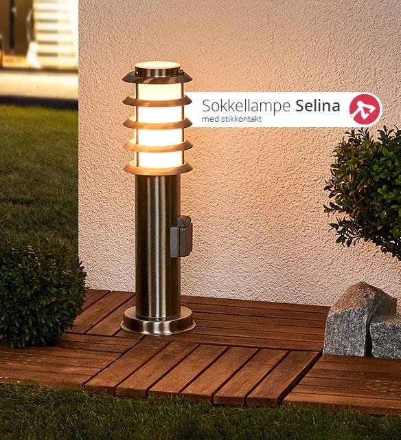 Sokkellampen Selina