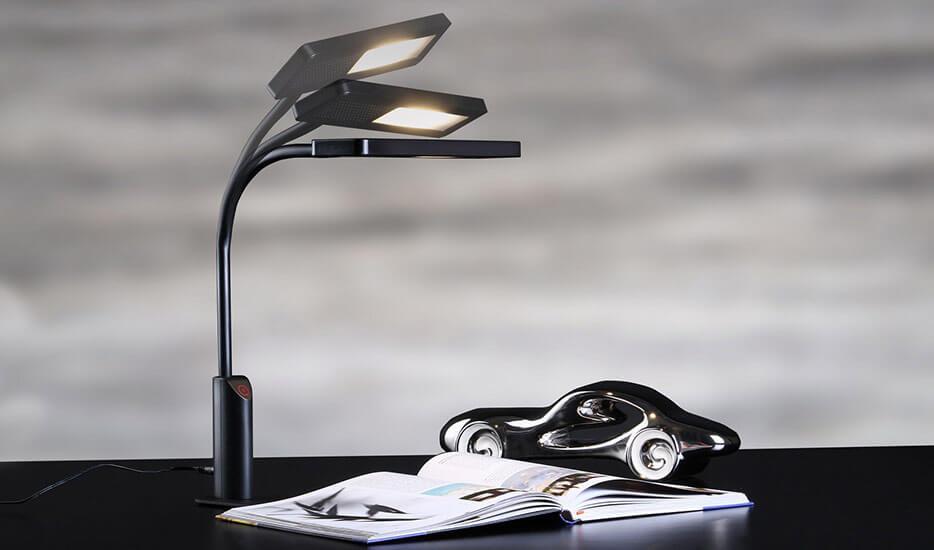 LED-skrivbordslampa